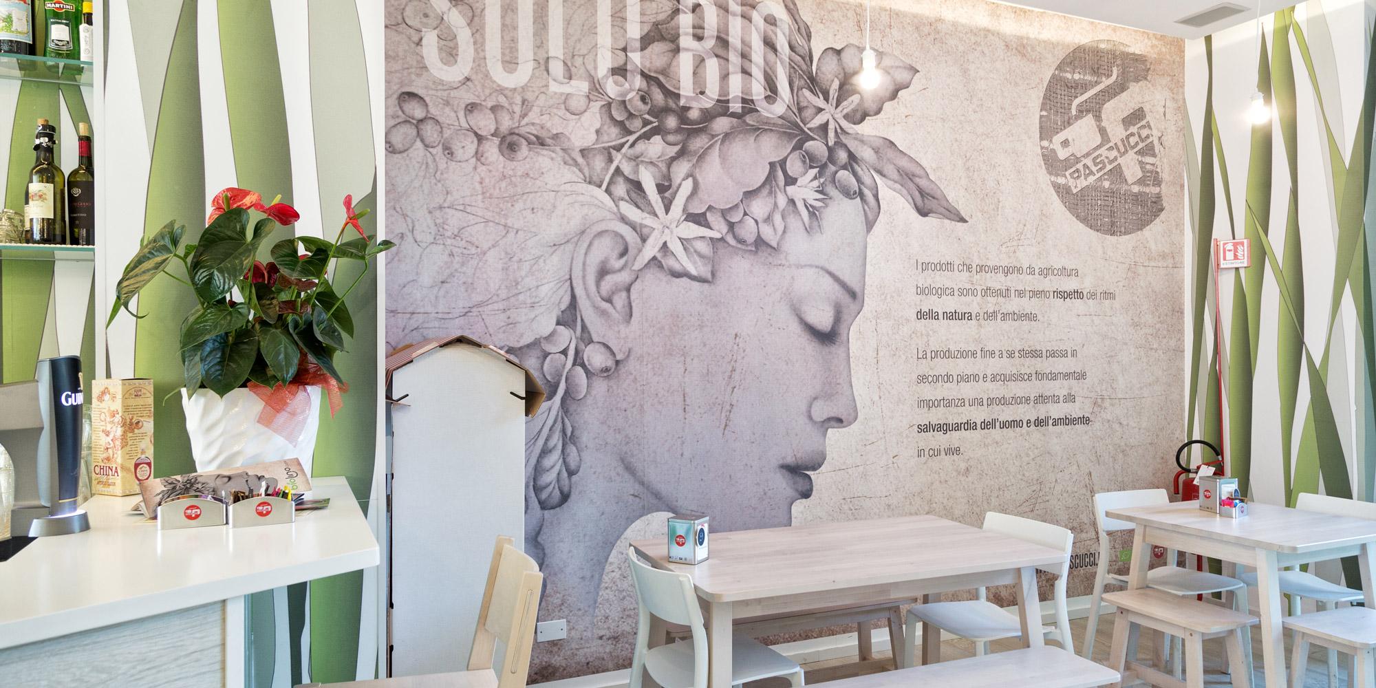 Bio Lino Caffè In Aulla   Interior Design   Branding   Marco Bonfigli  Architect