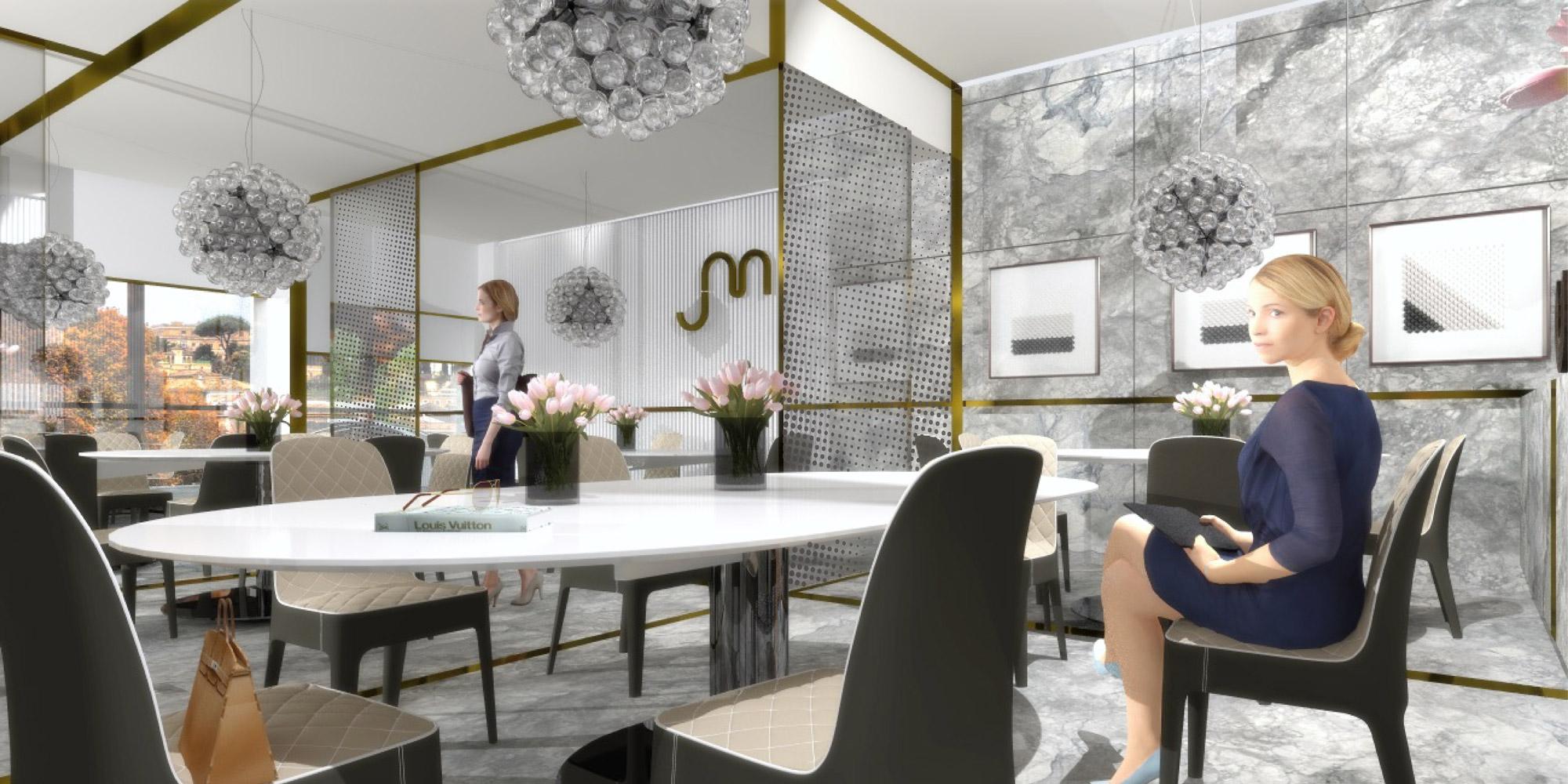 Marco bonfigli architect and interior designer in santo for Interior designer a roma